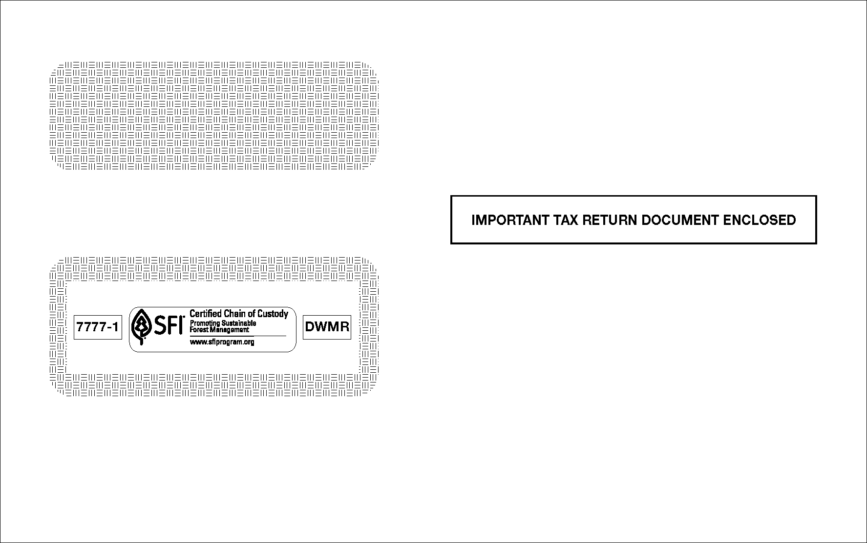 W2 & 1099 Envelopes
