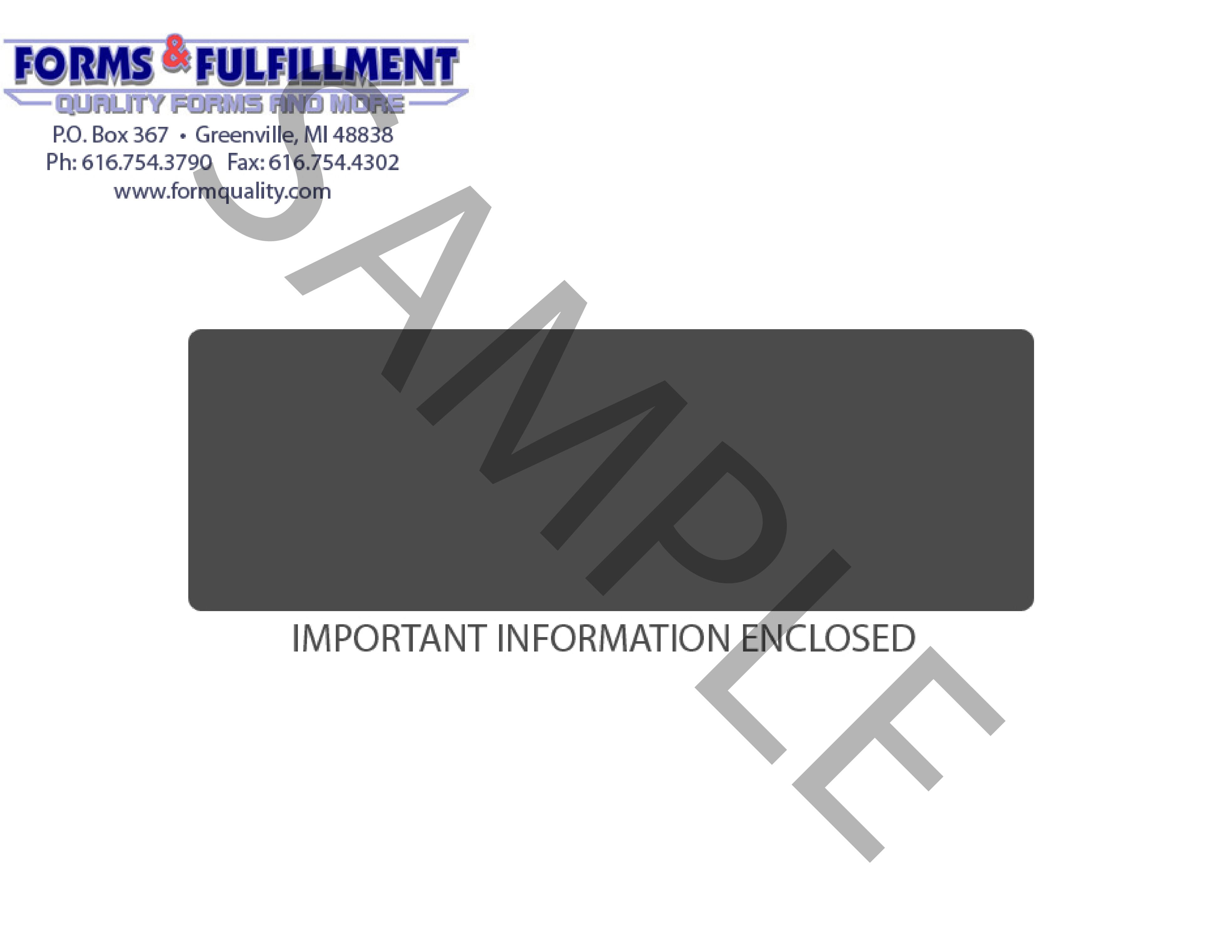 Landscape Envelope 90601